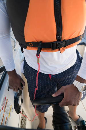 A new engine cutoff switch law aims to prevent boat-strike injuries (credit: National Safe Boating Council)